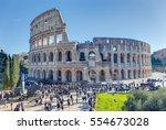 rome  italy   december 30  2016 ...   Shutterstock . vector #554673028