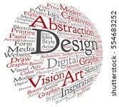 vector concept conceptual... | Shutterstock .eps vector #554683252
