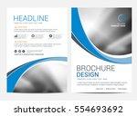 brochure template flyer... | Shutterstock .eps vector #554693692