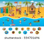 game for children  find the... | Shutterstock . vector #554701696