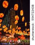 12 january 2014  singapore.... | Shutterstock . vector #554722438