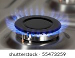 gas burner | Shutterstock . vector #55473259
