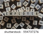 Small photo of Employer word concept