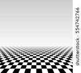 abstract checker background in... | Shutterstock .eps vector #554742766