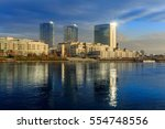 bratislava modern skyscapers ... | Shutterstock . vector #554748556