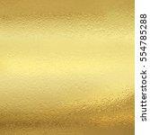 shining gold foil decor. yellow ... | Shutterstock . vector #554785288