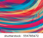 artistic design background with ... | Shutterstock .eps vector #554785672