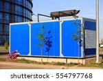 diesel electric generator used...   Shutterstock . vector #554797768