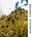 taktsang monastery located on... | Shutterstock . vector #554834308