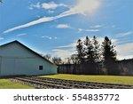 Railroad Building Scene