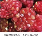Fresh Fruit Pomegranate Open T...