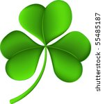 clover   Shutterstock .eps vector #55485187