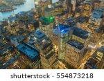 night of the sydney city... | Shutterstock . vector #554873218