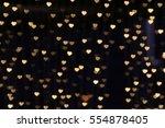 Gold Background Bokeh Lights...