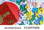 chinese new year festival hong... | Shutterstock . vector #554899888