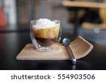 espresso con panna coffee....