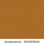 geometric shape abstract raster ... | Shutterstock . vector #554905042