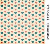 vector illustration.valentine's ... | Shutterstock .eps vector #554909116
