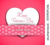 vector illustration.valentine's ...   Shutterstock .eps vector #554909146