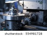 metalworking industry  tooth... | Shutterstock . vector #554981728