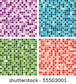 Vector Abstract Tile Backgrounds