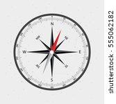 compass icon vector. | Shutterstock .eps vector #555062182