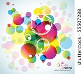 abstract colorful vector... | Shutterstock .eps vector #55507288
