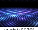 abstract colorful dance floor