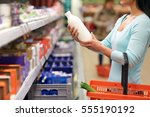 sale  shopping  consumerism and ... | Shutterstock . vector #555190192