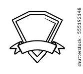shield premium badge ribbon...