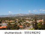 view of the city of santa...   Shutterstock . vector #555198292