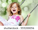 child. | Shutterstock . vector #555200056