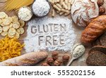 Gluten Free Food. Various Past...