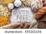 gluten free food. various pasta ...