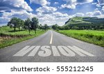 road of vision | Shutterstock . vector #555212245