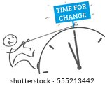 time for change   new habits... | Shutterstock .eps vector #555213442