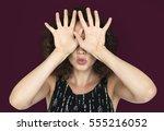 studio people shoot portrait... | Shutterstock . vector #555216052