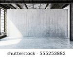 3d rendering of industrial or... | Shutterstock . vector #555253882