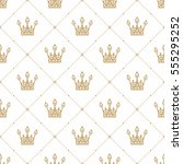 Seamless Pattern In Retro Style ...