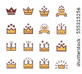 Vector  Crowns Icons Set ...