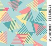 modern stylish abstract... | Shutterstock .eps vector #555338116