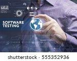 business  technology  internet... | Shutterstock . vector #555352936