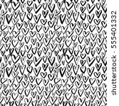 seamless pattern with hearts....   Shutterstock .eps vector #555401332