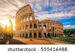 Colosseum At Sunrise  Rome....