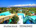corfu island  greece  jun 01 ...   Shutterstock . vector #555463402
