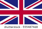 united kingdom flag   Shutterstock .eps vector #555487468