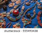 morocco   accessory at market   | Shutterstock . vector #555493438