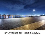 cityscape and skyline of seoul... | Shutterstock . vector #555532222