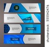 set design elements business...   Shutterstock .eps vector #555542476