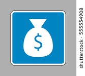money bag sign illustration....